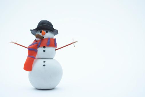 雪だるま「Snowman」:スマホ壁紙(12)
