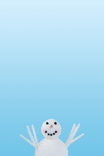 雪だるま「スノーマン」:スマホ壁紙(6)