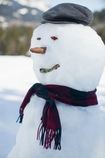 雪だるま「スノーマン」:スマホ壁紙(12)