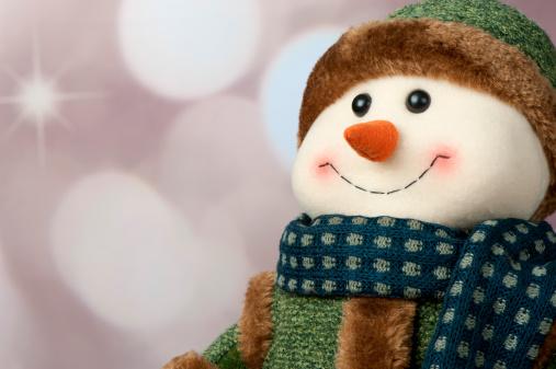 雪だるま「スノーマン」:スマホ壁紙(14)