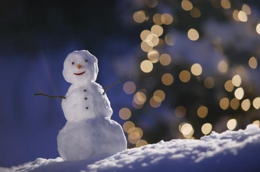 雪だるま「Snowman」:スマホ壁紙(5)