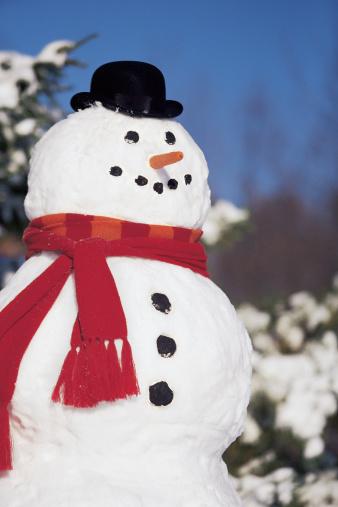 雪だるま「Snowman」:スマホ壁紙(2)