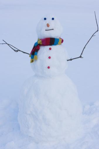 雪だるま「、スノーマン」:スマホ壁紙(5)