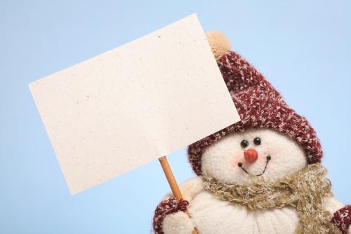 雪だるま「スノーマン」:スマホ壁紙(7)
