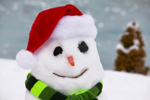 雪だるま「Snowman」:スマホ壁紙(3)