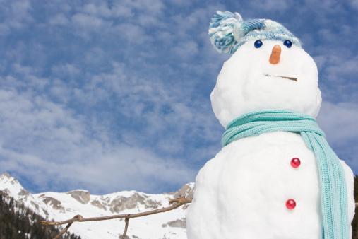雪だるま「、スノーマン」:スマホ壁紙(16)