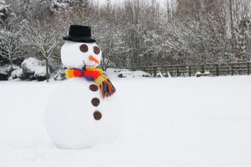 雪だるま「スノーマン」:スマホ壁紙(0)