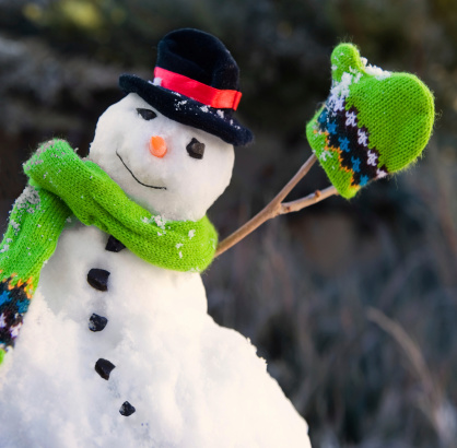 雪だるま「スノーマン」:スマホ壁紙(8)