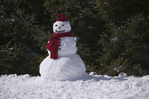 雪だるま「Snowman」:スマホ壁紙(11)
