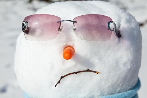 雪だるま「Snowman」:スマホ壁紙(6)