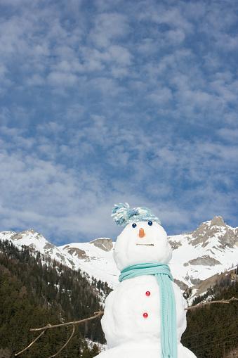 雪だるま「、スノーマン」:スマホ壁紙(3)