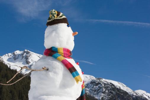 雪だるま「、スノーマン」:スマホ壁紙(9)