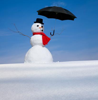 雪だるま「スノーマン」:スマホ壁紙(17)