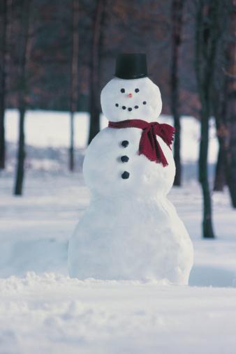 雪だるま「Snowman」:スマホ壁紙(8)