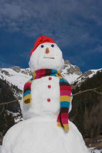 雪だるま「、スノーマン」:スマホ壁紙(10)