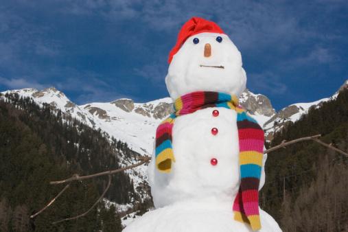 雪だるま「、スノーマン」:スマホ壁紙(8)