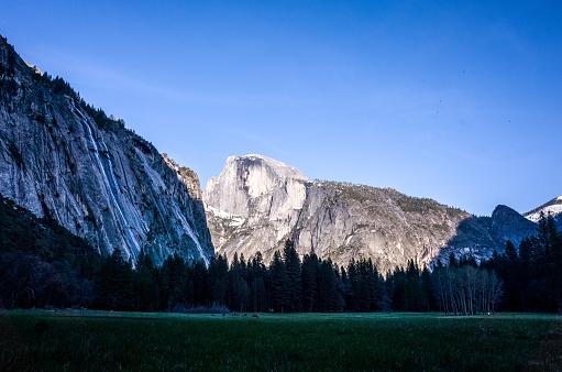 National Park「Half Dome, Yosemite Valley, Yosemite National Park, California, America, USA」:スマホ壁紙(0)