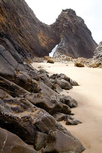 Cannon Beach「arch beach oregon coast」:スマホ壁紙(2)