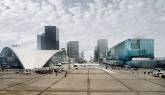 French Culture「Cityscape and Place de Parvis」:スマホ壁紙(11)