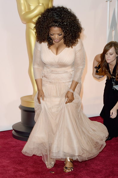 Tulle Netting「87th Annual Academy Awards - Arrivals」:写真・画像(3)[壁紙.com]