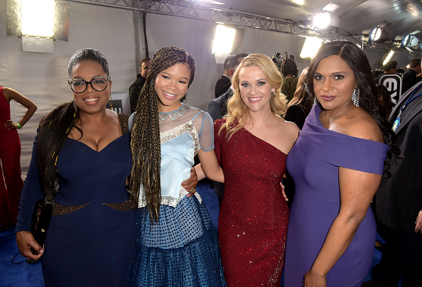 "A Wrinkle in Time「Premiere Of Disney's ""A Wrinkle In Time"" - Red Carpet」:写真・画像(9)[壁紙.com]"