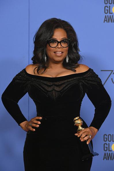 Oprah Winfrey「75th Annual Golden Globe Awards - Press Room」:写真・画像(12)[壁紙.com]