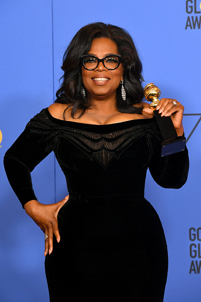 Oprah Winfrey「75th Annual Golden Globe Awards - Press Room」:写真・画像(17)[壁紙.com]