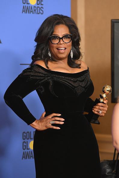Oprah Winfrey「75th Annual Golden Globe Awards - Press Room」:写真・画像(14)[壁紙.com]