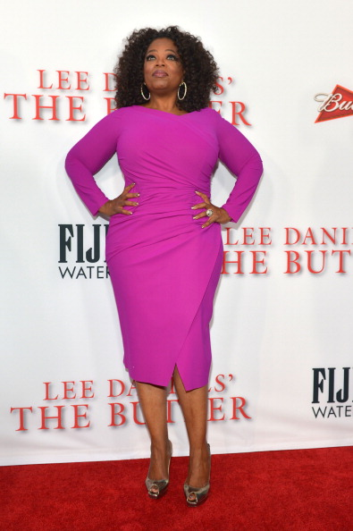 Oprah Winfrey「LEE DANIELS' THE BUTLER Los Angeles Premiere, Hosted By TWC, Budweiser And FIJI Water, Purity Vodka And Stack Wines - Red Carpet」:写真・画像(17)[壁紙.com]