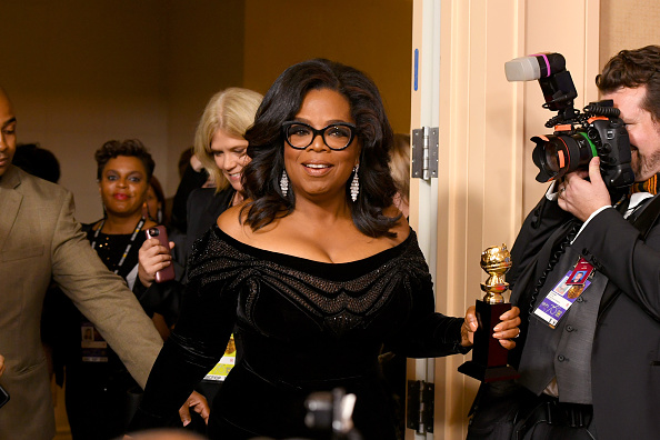 Oprah Winfrey「75th Annual Golden Globe Awards - Press Room」:写真・画像(8)[壁紙.com]