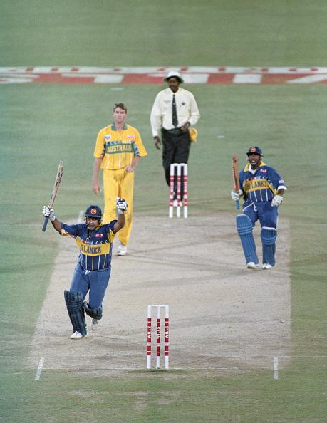 Sri Lanka「Sri Lanka Win the 1996 ICC Cricket World Cup Final v Australia」:写真・画像(19)[壁紙.com]