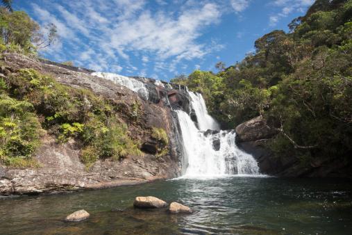 Sri Lanka「Sri Lanka, Central Province, Horton Plains National Park, waterfall」:スマホ壁紙(13)