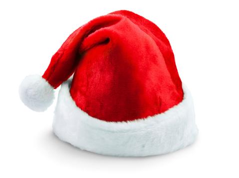 縁なし帽子「サンタの帽子、クリッピングパス」:スマホ壁紙(17)
