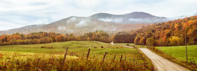 Eastern Townships「Hilly pastures in Appalachian mountain range」:スマホ壁紙(7)