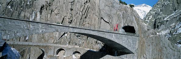 Economic fortune「Historic and modern Devil's bridge - Saint Gotthard pass road - Swiss Alps - canton of Uri - Switzerland」:写真・画像(6)[壁紙.com]
