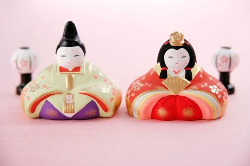 ひな祭り「Japanese hinamatsuri dolls」:スマホ壁紙(7)