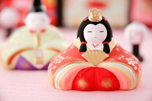 ひな祭り「Japanese hinamatsuri dolls」:スマホ壁紙(6)