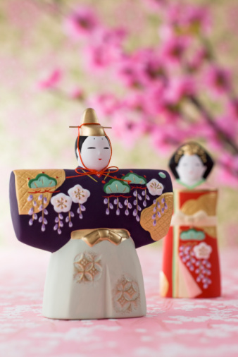 ひな祭り「Japanese hinamatsuri doll」:スマホ壁紙(3)