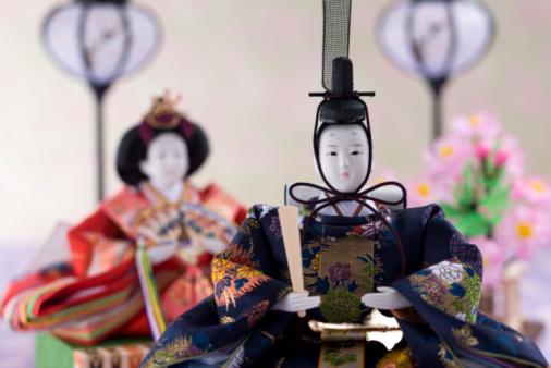 ひな祭り「Japanese hinamatsuri doll」:スマホ壁紙(11)