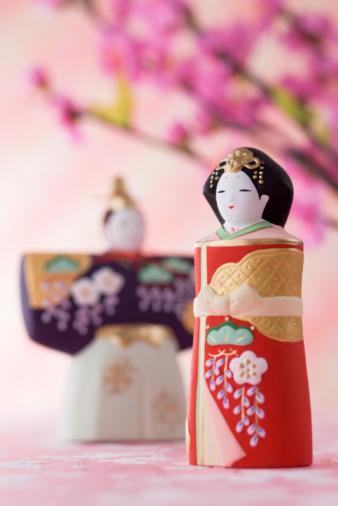 ひな祭り「Japanese hinamatsuri doll」:スマホ壁紙(9)