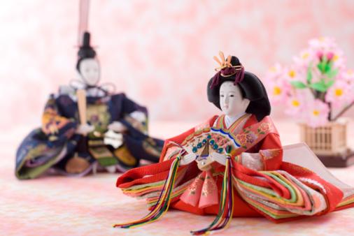 ひな祭り「Japanese hinamatsuri doll」:スマホ壁紙(6)