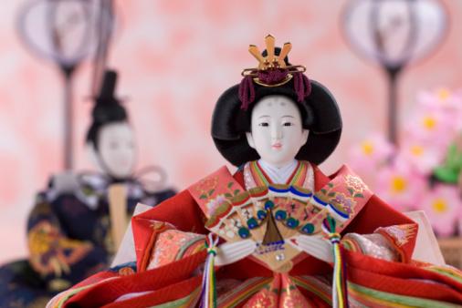 ひな祭り「Japanese hinamatsuri doll」:スマホ壁紙(7)