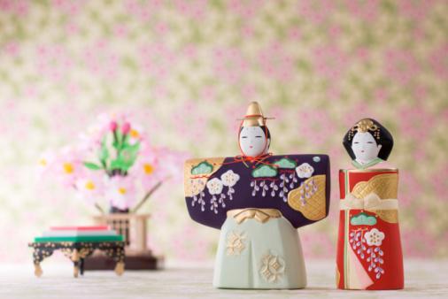 ひな祭り「Japanese hinamatsuri doll」:スマホ壁紙(15)