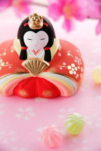 ひな祭り「Japanese hinamatsuri doll」:スマホ壁紙(2)