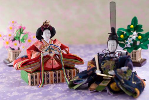 ひな祭り「Japanese hinamatsuri doll」:スマホ壁紙(4)