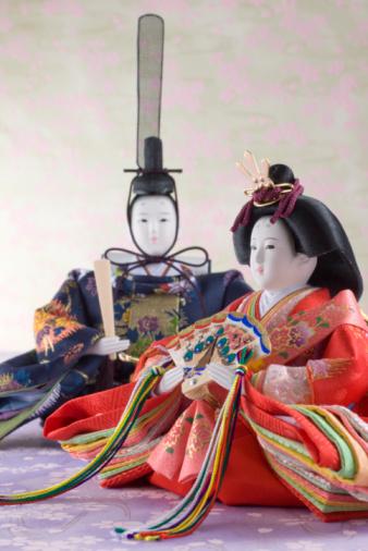 ひな祭り「Japanese hinamatsuri doll」:スマホ壁紙(10)