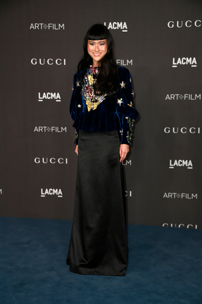 Multi Colored Blouse「2019 LACMA Art + Film Gala Presented By Gucci - Arrivals」:写真・画像(14)[壁紙.com]