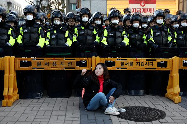 South Korea「South Koreans Rally At A General Strike In Seoul」:写真・画像(17)[壁紙.com]