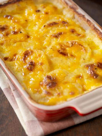 Scalloped - Pattern「Creamy Potatoes Au Gratin」:スマホ壁紙(8)