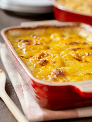 Scalloped - Pattern「Creamy Potatoes Au Gratin」:スマホ壁紙(11)